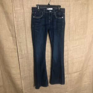 Levi's 715 Bootcut Dark Wash Jeans Sz 14